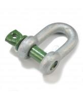 Green Pin standaard D-sluitingen / borstbout