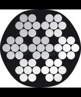 PP zwart 7x7