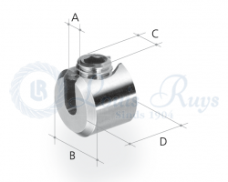 Klemcylinder / enkel imbus
