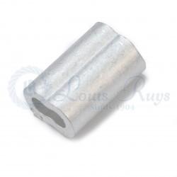 Aluminium 8-vormige persklemmen